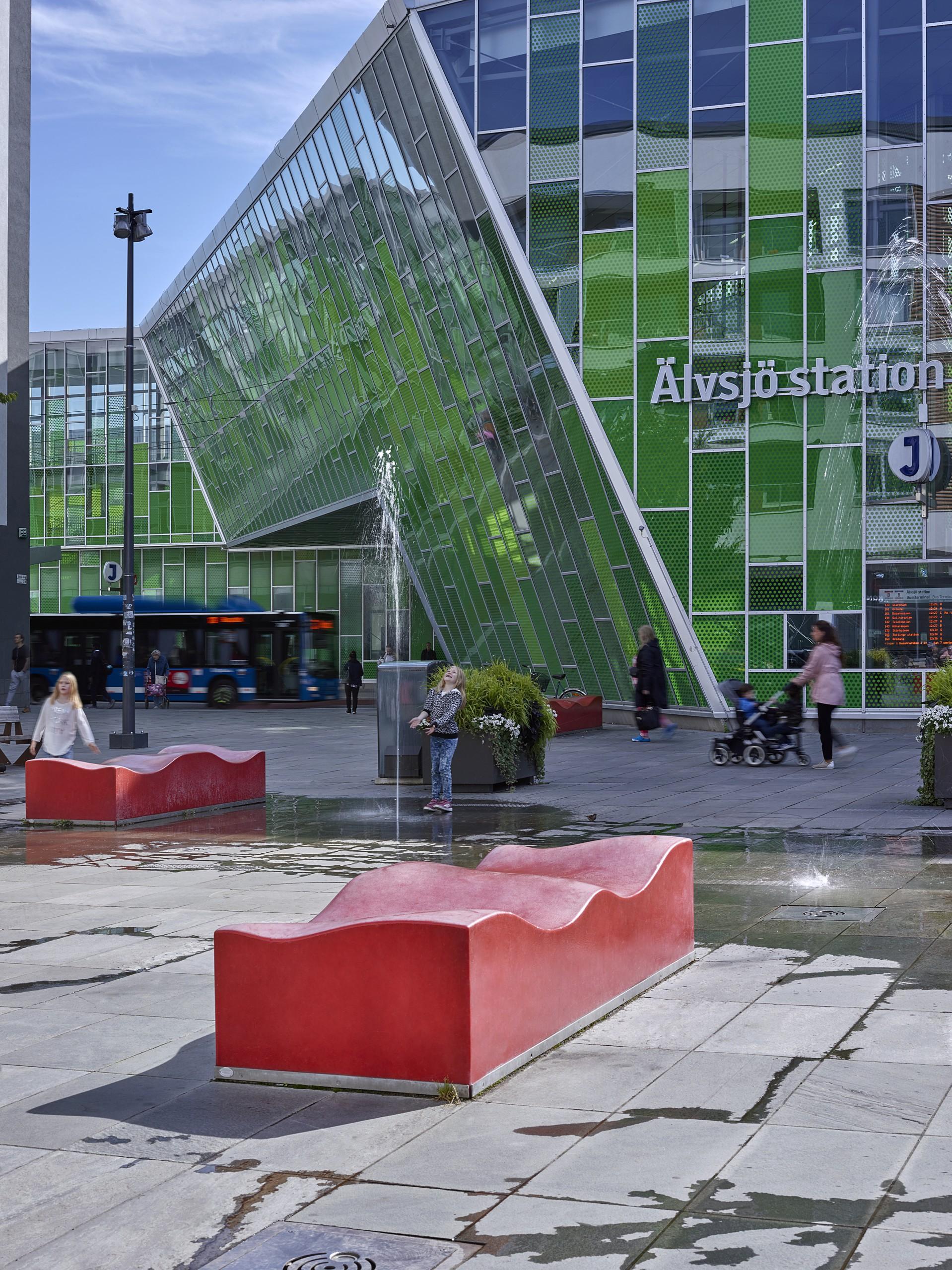 Älvsjö station