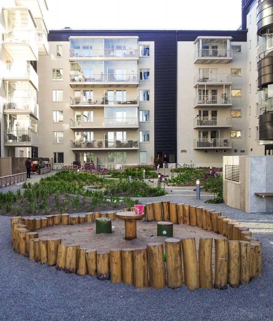 sandbox in park