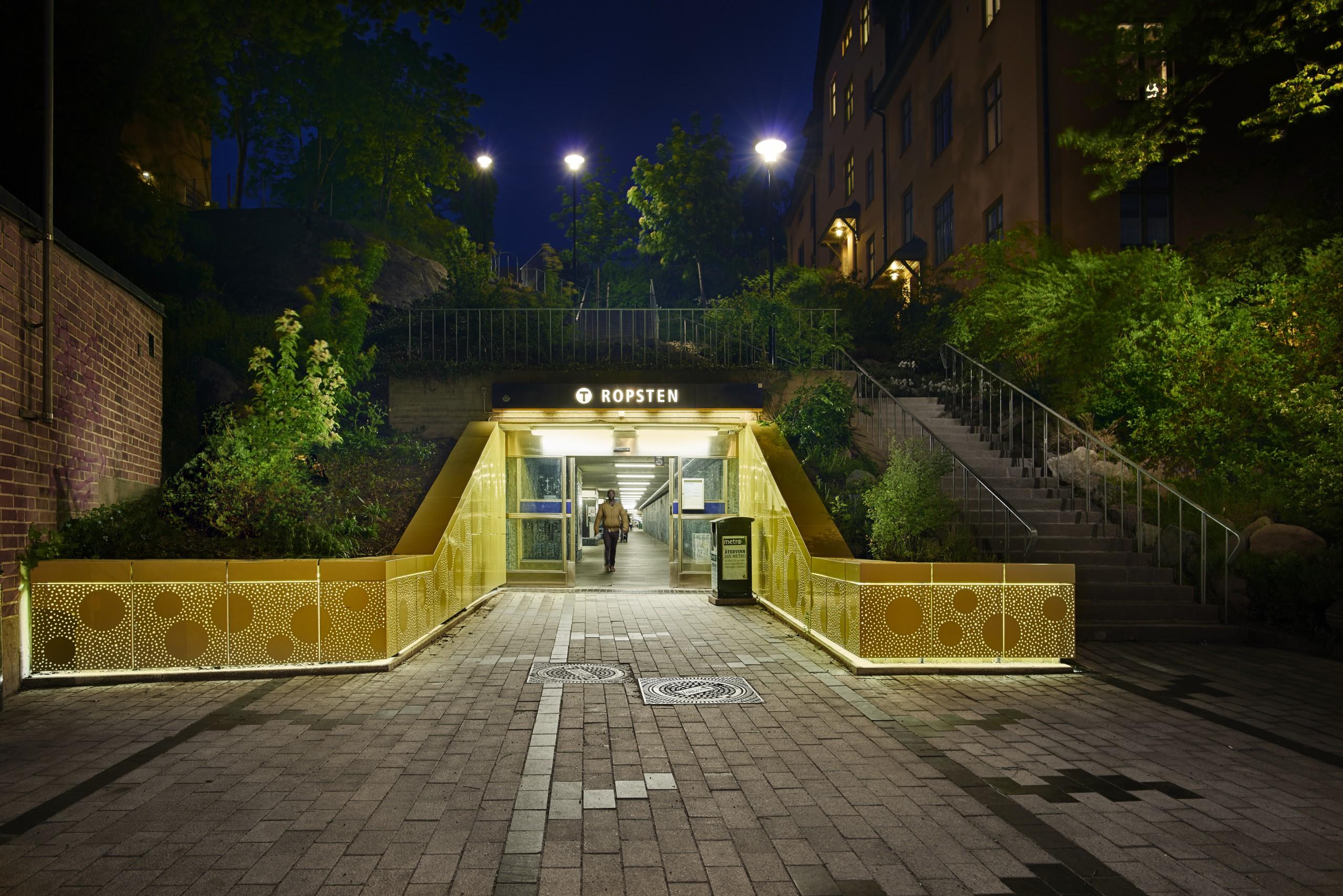 Station entrance